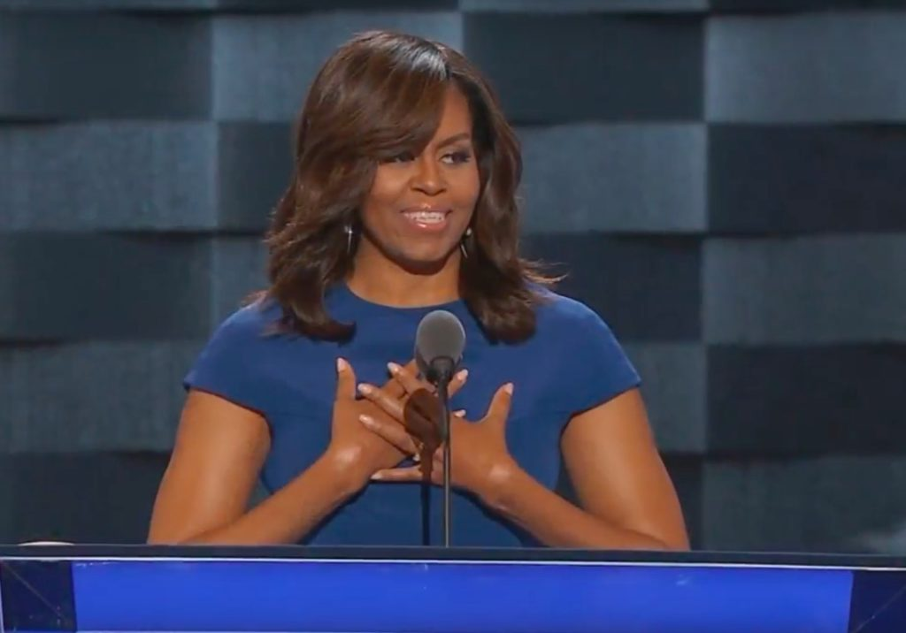 COR 2016 07 28 - Michelle-Obamas-Speech-to-the-2016-DNC