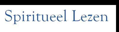 SPIRITUEEL LEZEN Logo